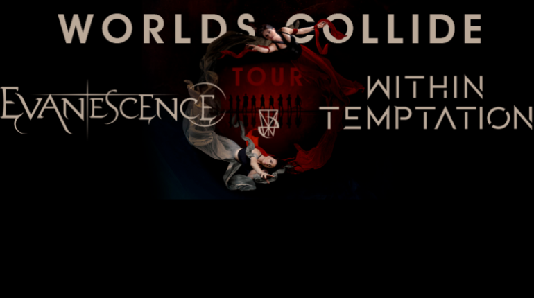 Evanescence Tour 2020.Evanescence Within Temptation Aeg Presents