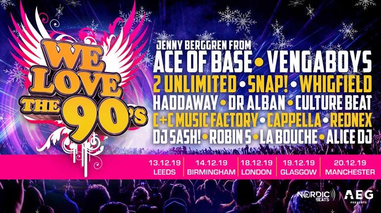 WE LOVE THE 90s | AEG Presents